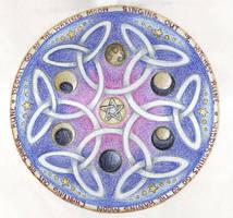Lunar Wheel by Spiralpathdesigns