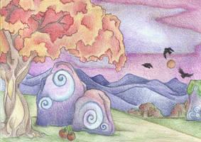 Autumn's First Blush by Spiralpathdesigns