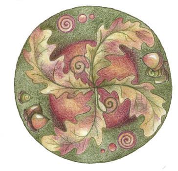 Autumn Wheel by Spiralpathdesigns