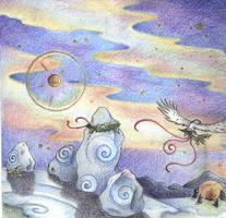 Solstice Night by Spiralpathdesigns