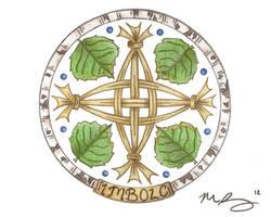 Imbolc Mandala by Spiralpathdesigns