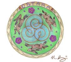 Ostara Mandala by Spiralpathdesigns