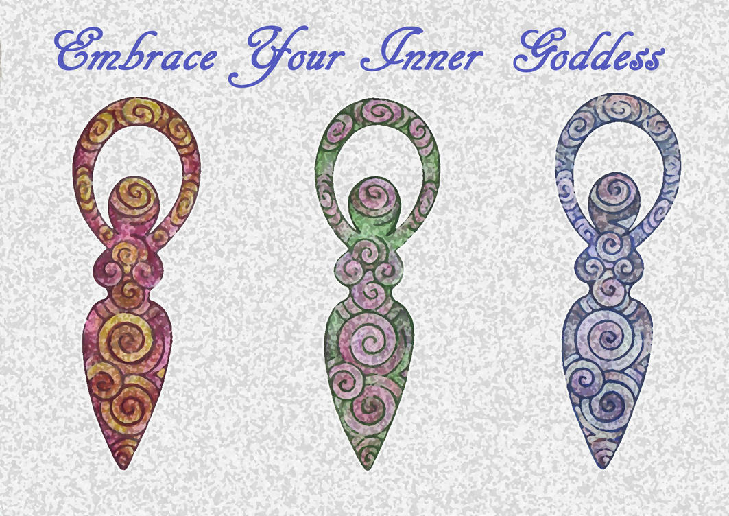 Embrace your inner Goddess by Spiralpathdesigns