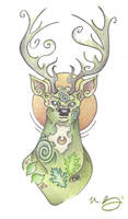 Lord of the Forest by Spiralpathdesigns