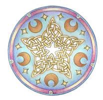 Celestrial Knotwork  by Spiralpathdesigns