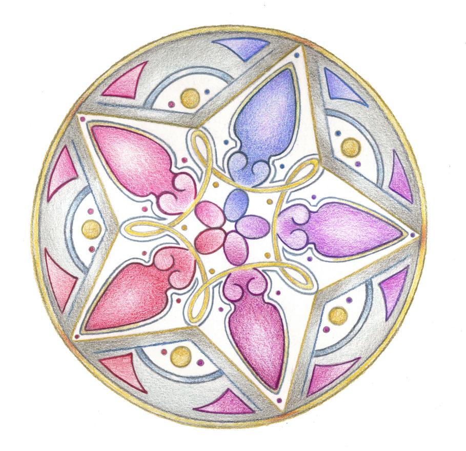 Sistars Mandala by Spiralpathdesigns