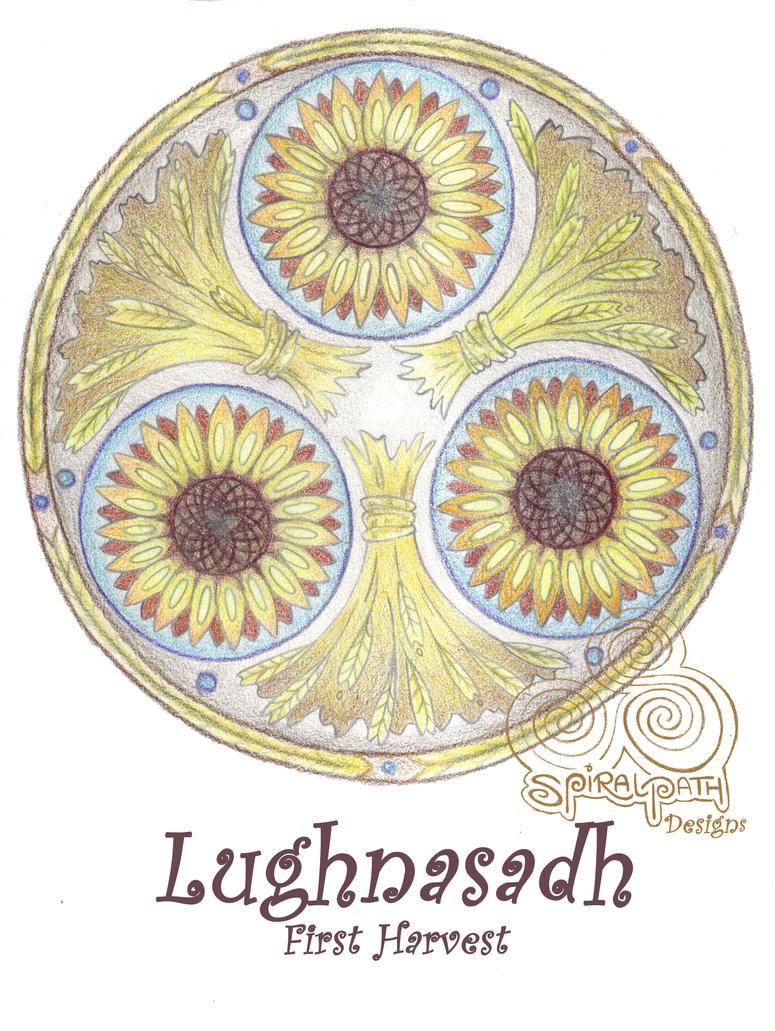 Lughnasadh Mandala by Spiralpathdesigns