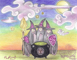 Toil and Trouble by Spiralpathdesigns
