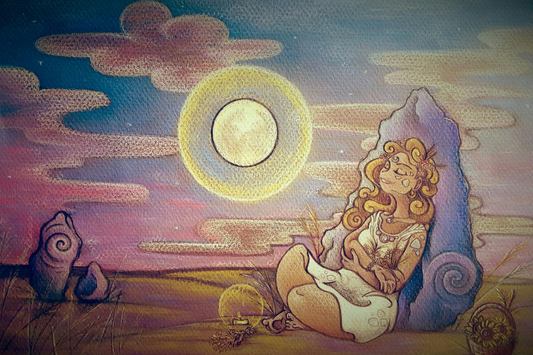 Bathed in Moonlight by Spiralpathdesigns