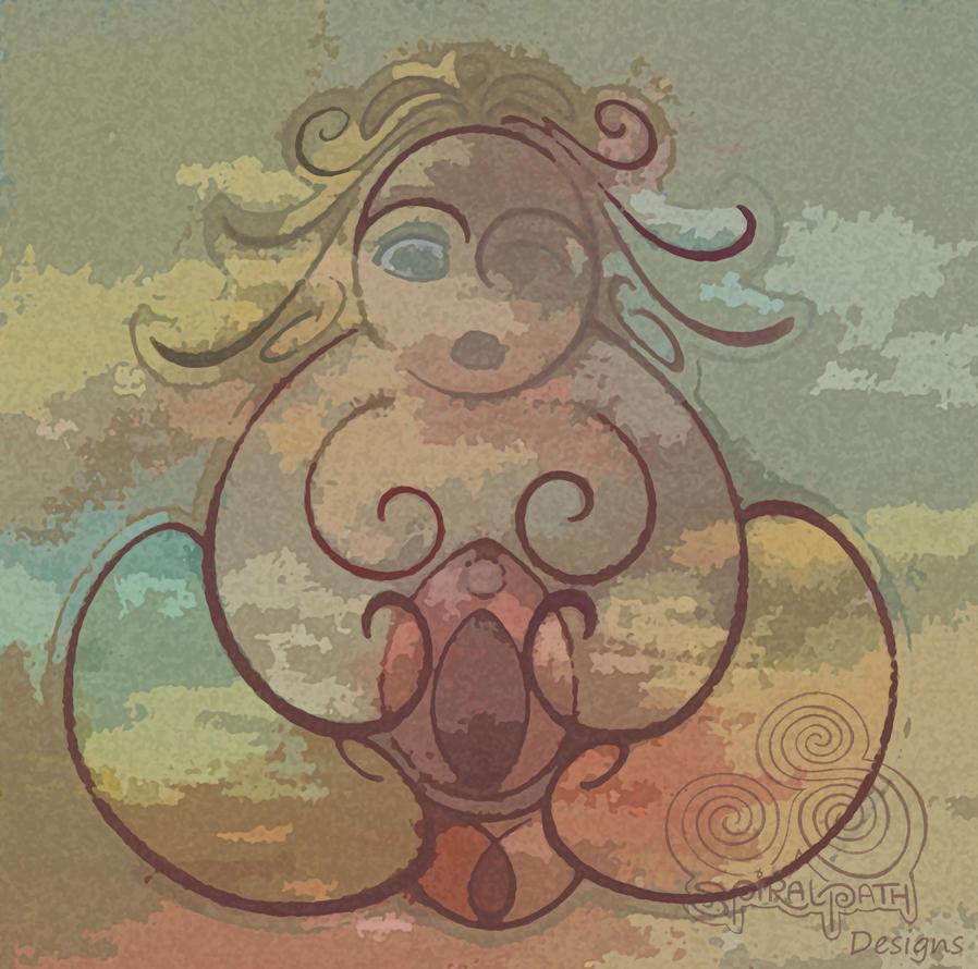 Sheela Na Gig by Spiralpathdesigns