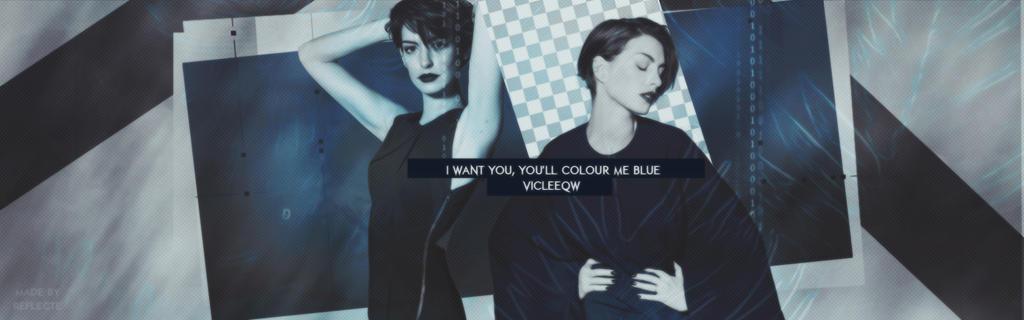 Blue- Anne Hathaway by IrishMarshmallowxxx