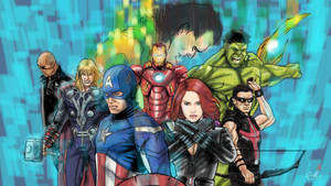 The Avengers by TigerArtStudio