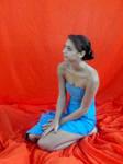 Blue Dress 6
