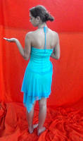 Aqua Dress 5