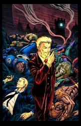 Defiant comics cover Colors by Memo Regalado