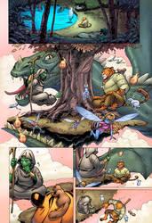 Tellos Vol 2 Page 78 Colors by Memo Regalado by V3dd3rMan
