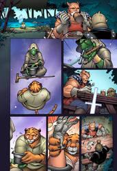 Tellos Vol 2 Page 80 Colors by Memo Regalado by V3dd3rMan