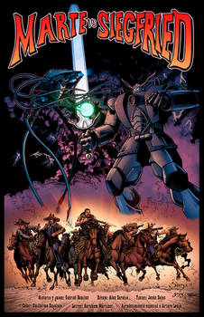 Marte vs Siegfried cover colors by Memo Regalado