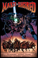 Marte vs Siegfried cover colors by Memo Regalado by V3dd3rMan