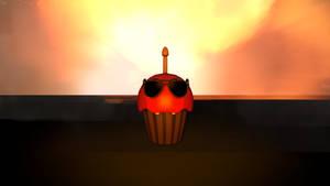 Sunglasses Cupcake