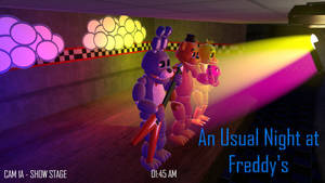 [Youtube Thumbnail] An Usual Night at Freddy's