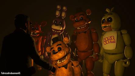 Mike's Nightmare by FahrezaArubusman45