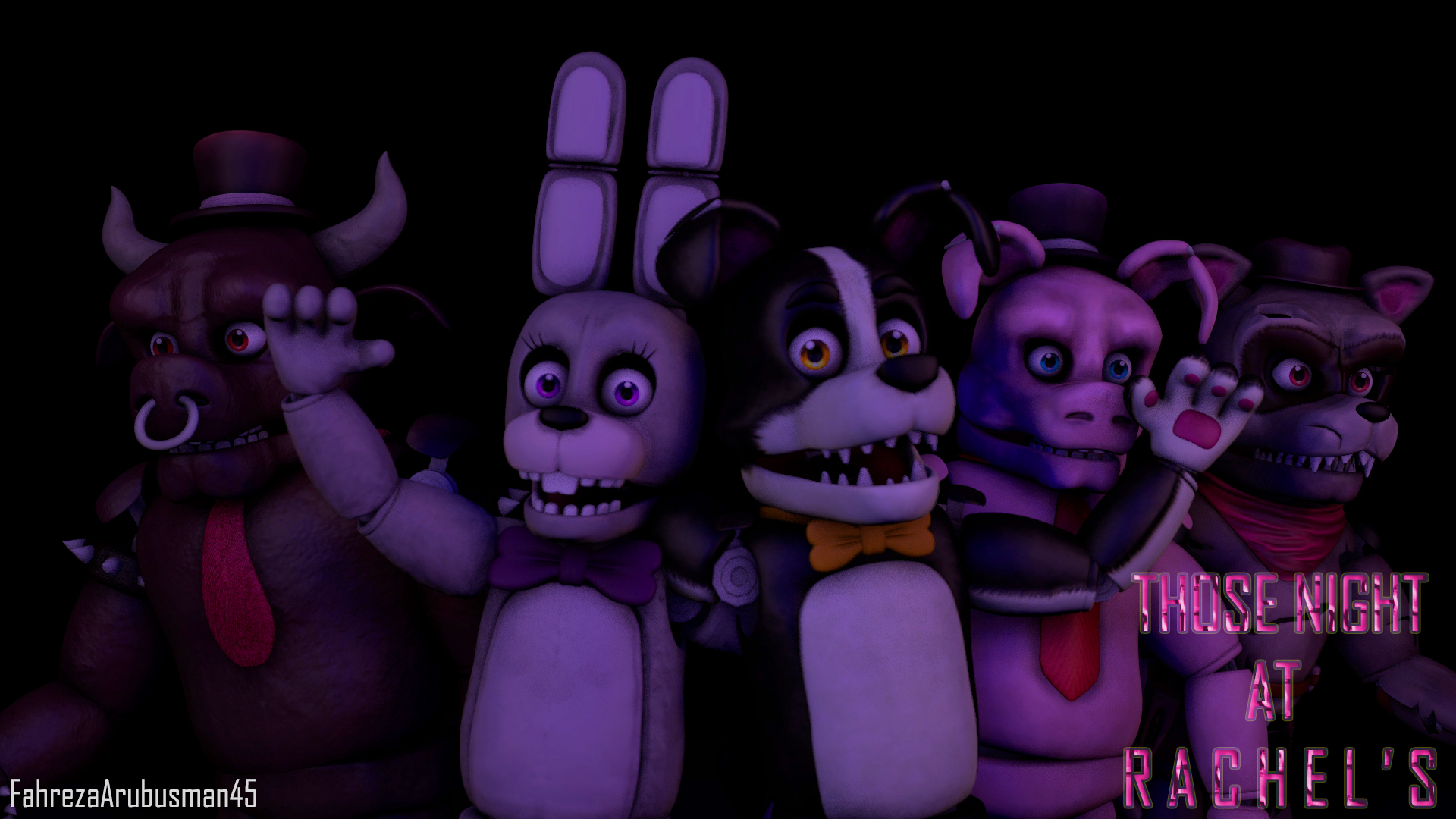 [FNAF/TNAR - SFM] Those Night at Rachel's by ...