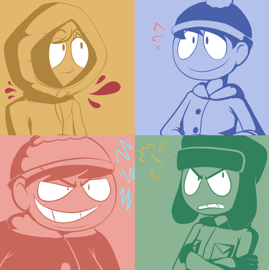 I have drawn so much south park fanart by Toyoburrito