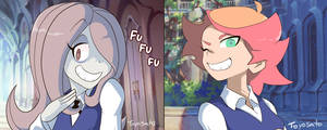 Little Witch Academia commissions