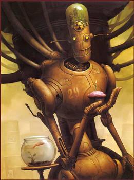 Robot Mrbubbles