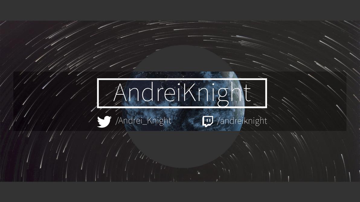 Youtube Banner design by andreizv