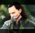 Be quiet, Loki