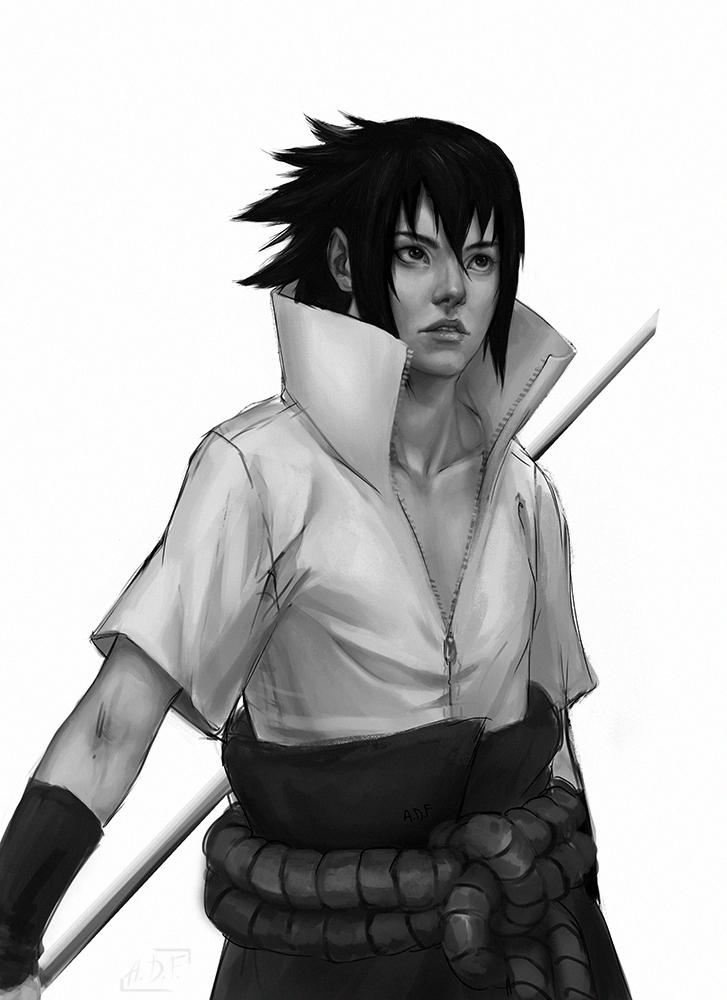 Sasuke by Anixien