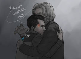 I don't wanna die, Hank by Anixien