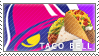 sunday evenings with my sister (taco bell stamp) by PAPADOLL