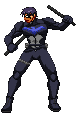 Nightwing Young Justice Sprite by xHienx
