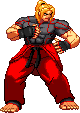 SF3 Ken SFV Design Sprite by xHienx