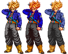 SSJ Trunks Sprite by xHienx