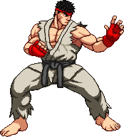 Another Ryu Sprite by xHienx