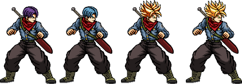 Future Trunks is back! by xHienx