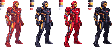 Iron Man Civil War suit MK-46 by xHienx