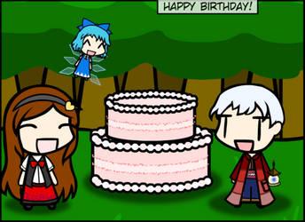 Watcher's birthday by makutadesrex