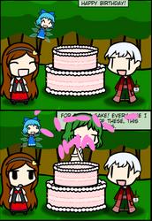 Birthday comic full version by makutadesrex