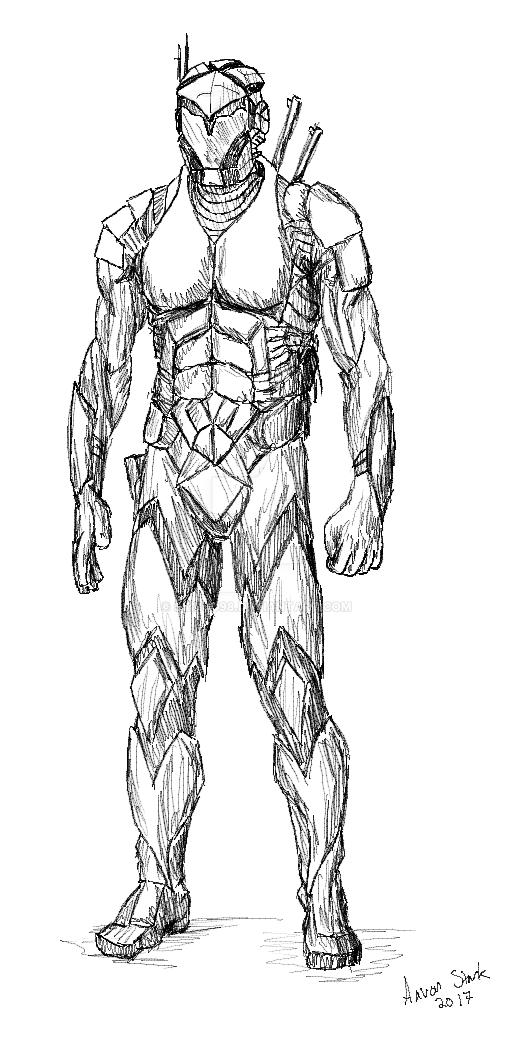 A40 Human PowerSuit (Light Armor) by skibud98