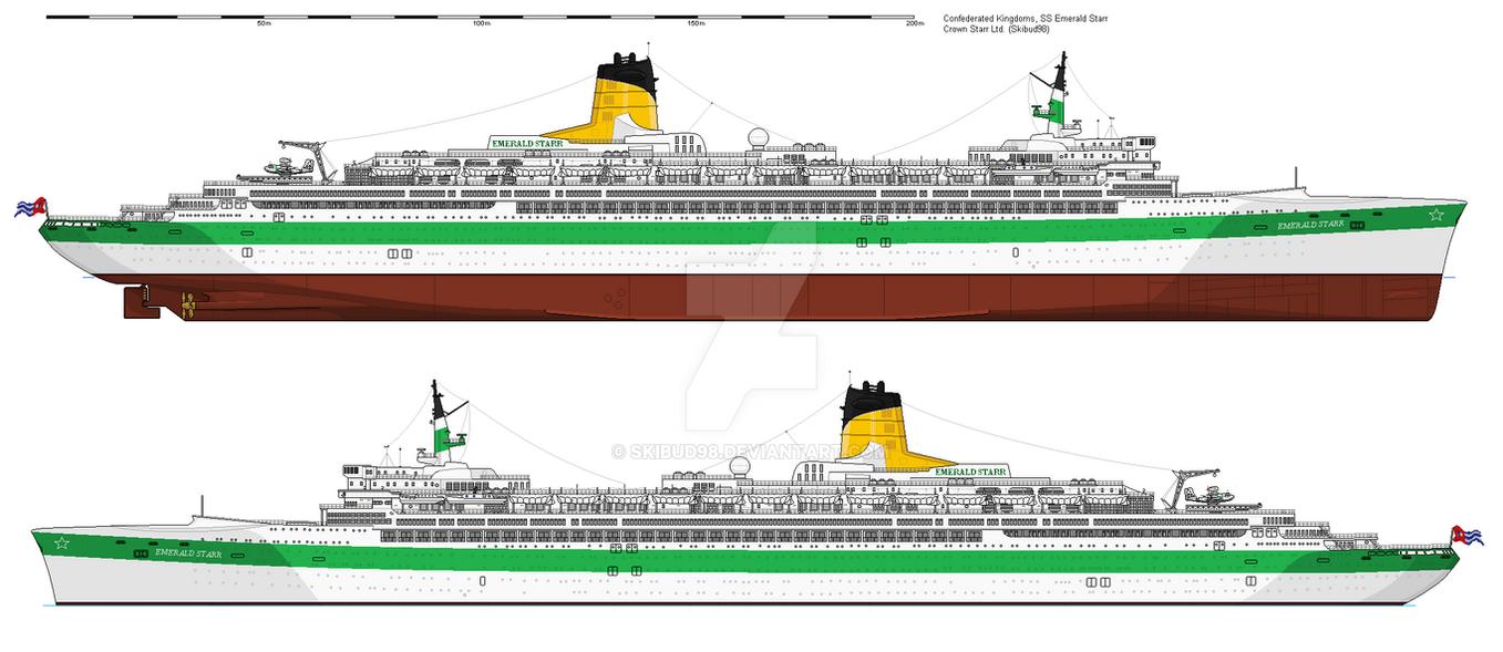 SS Emerald Starr by skibud98