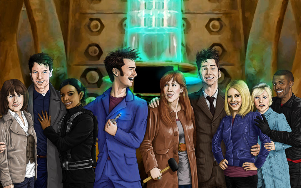 Doctor Who Journey's End by Madarivian on DeviantArt