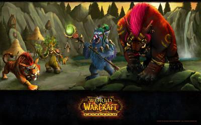WoW Troll Druid Forms by Madarivian