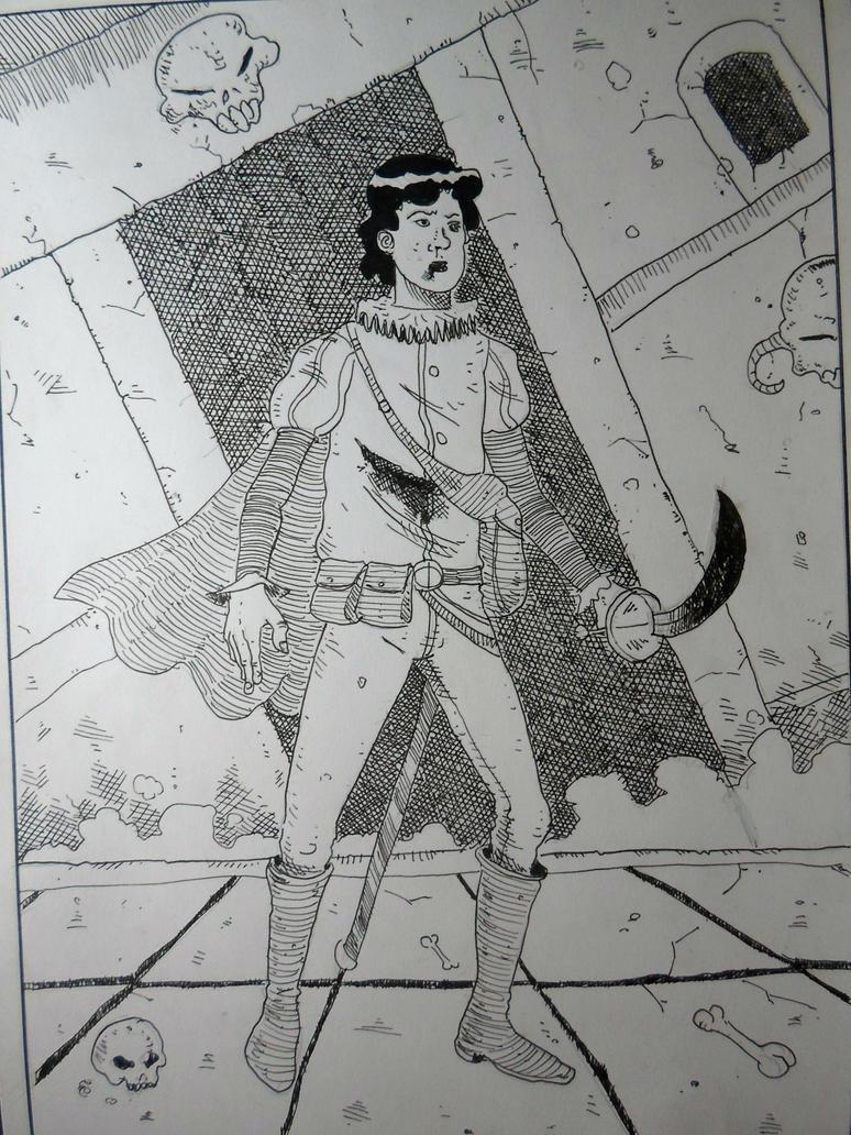Swordsman by vicchan69