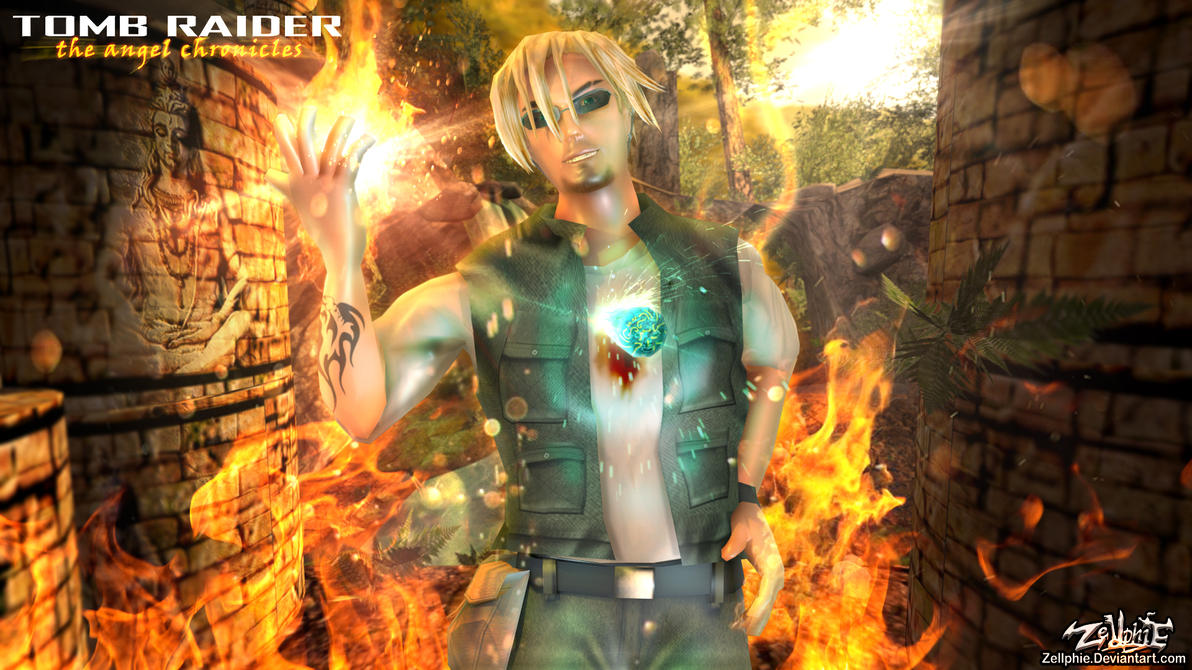 Tony - Tomb Raider The Angel Chronicles by Zellphie