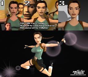 Tomb Raider 4 - New FMV Lara by Zellphie